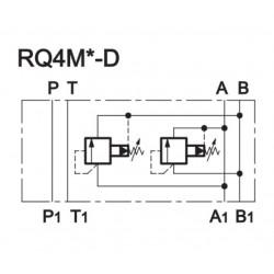 فشارشکن، 3/8، مادیولار، خط AB ضربدری، ساخت ایتالیا / دوپلماتیک (DUPLOMATIC)