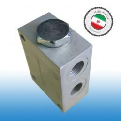مقسم - فلودیوایدر - Flowdivider / سایز 1/2 به 3/8  / ساخت ایران