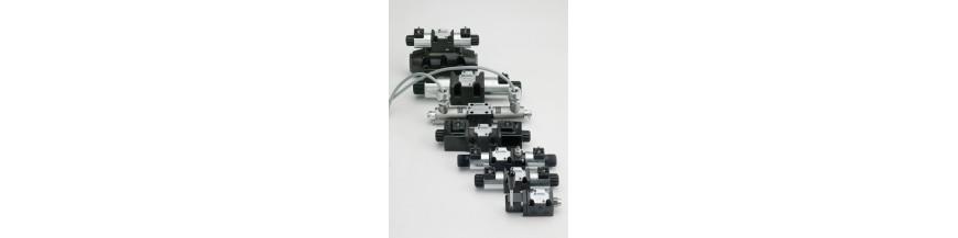 شیر کنترل جهت، شیر برقی، شیر هیدرولیک، سولنوئیدی